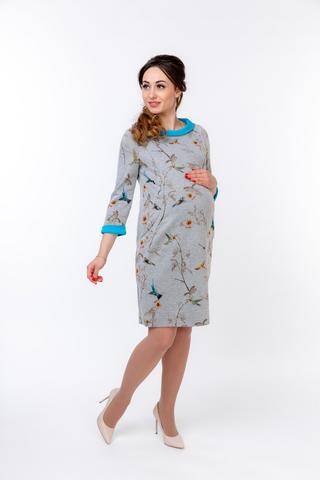 Платье 09917 бирюза