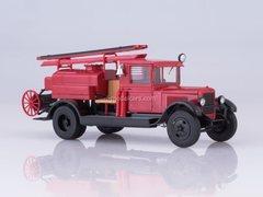 ZIS-5 PMZ-2 fire truck tanker 1:43 DeAgostini Auto Legends USSR Trucks SE#6