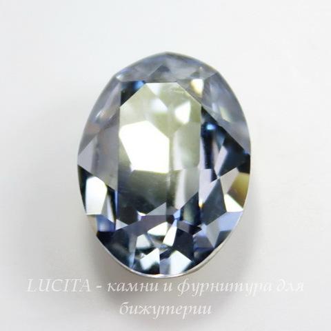 4120 Ювелирные стразы Сваровски Crystal Blue Shade (18х13 мм)