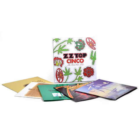 ZZ Top / Cinco: The First Five LP's (5LP)