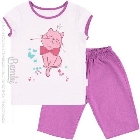 ПЖ45 Пижама для девочки