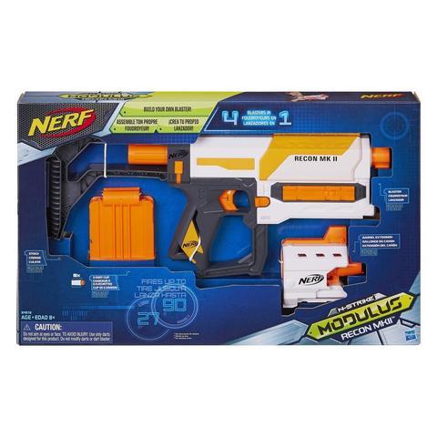 Hasbro: Nerf Бластер Modulus Recon MKII B4616 — Nerf Modulus Recon MKII Blaster  — Нерф Нёрф Хасбро