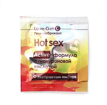 Возбуждающие: Гель-лубрикант Lovegel C в одноразовой упаковке - 4 гр.