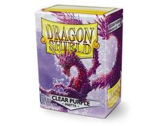 Dragon Shield - Прозрачно-фиолетовые протекторы 100 штук