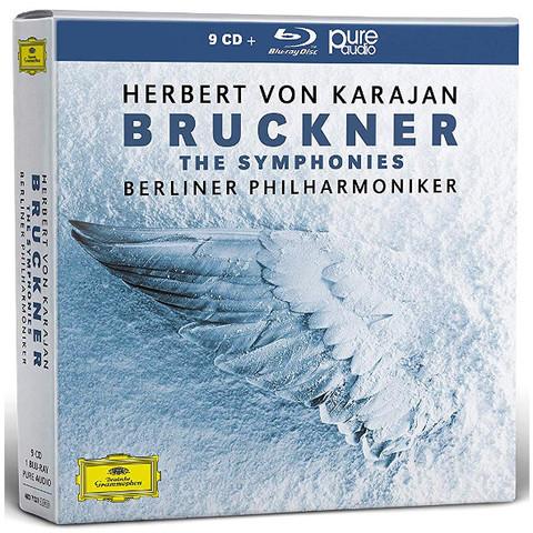 Herbert von Karajan, Berlin Philharmonic / Bruckner: The Symphonies (9CD+Blu-ray)