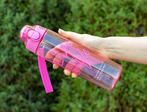 Бутылка POWCAN - 700 мл. Life Style - Розовый