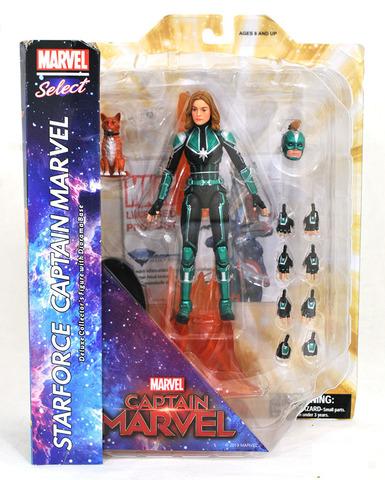 Марвел Селект фигурка Капитан Марвел Starforce