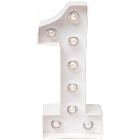 Светильник- декоративная цифра-светильник  от Heidi Swapp