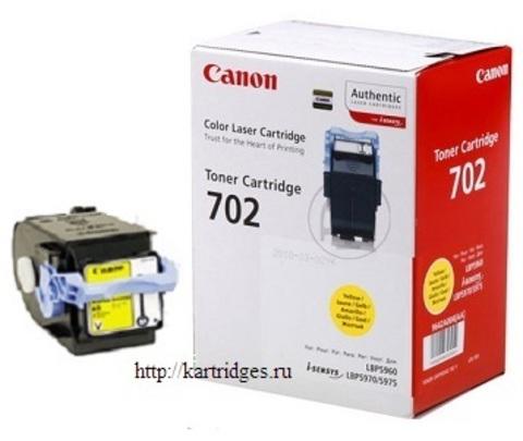 Картридж Canon Cartridge 702 Y / 9642A004