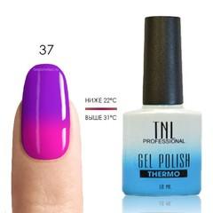 TNL, Термо гель-лак № 37 - фуксия/ярко-розовый, 10 мл
