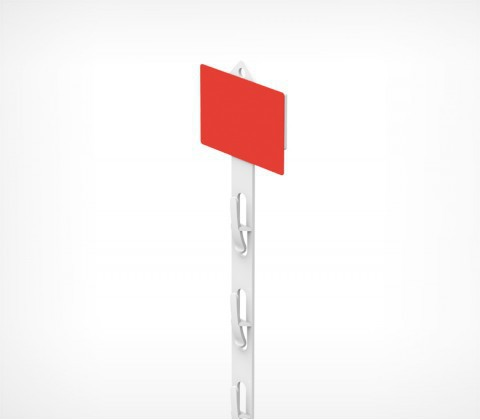 Лента подвесная пластиковая CLIP STRIP-W