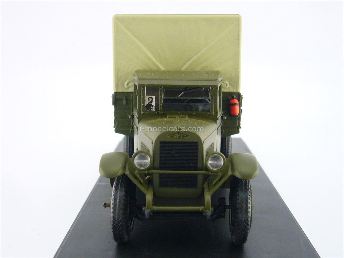 ZIS-5 with awning khaki 1:43 Miniclassic