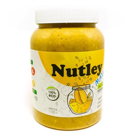 Nutley паста арахисовая с мёдом «crunchy»  1100 г