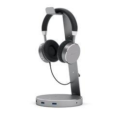 Подставка для наушников Satechi Aluminium USB 3.0 Headphone Stand алюминий, серый космос