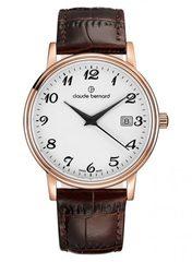 мужские наручные часы Claude Bernard 53007 37R BB