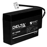 Аккумулятор Delta DT 12008 (T13) ( 12V 0,8Ah / 12В 0,8Ач ) - фотография