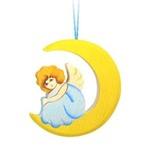 Игрушка-подвеска Ангел на луне