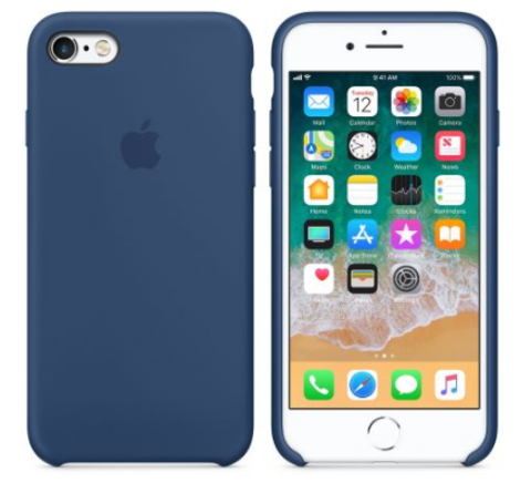iPhone 6/6s Silicone Case  Navy Blue