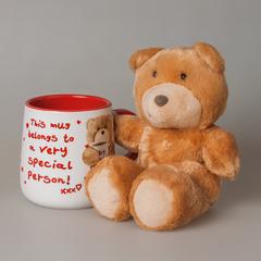 Подарочный набор (чашка+мишка) 87436