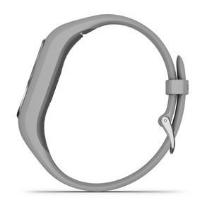Фитнес-браслет Vivosmart 4 с пульсометром (серебристый)