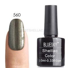 Гель-лак Bluesky № 40560/80560 Steel Gaze, 10 мл