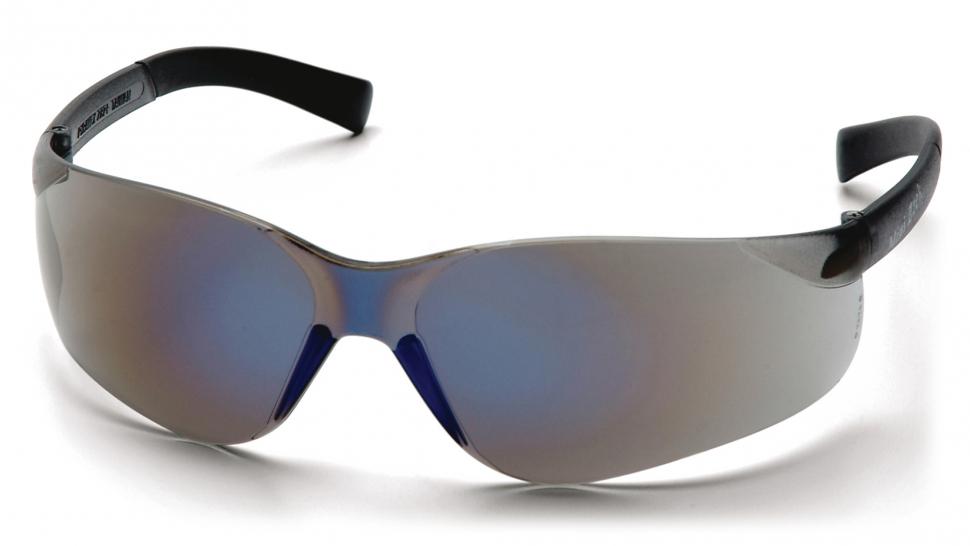 Очки баллистические стрелковые Pyramex Mini Ztek S2575SN зеркально-синие 83%