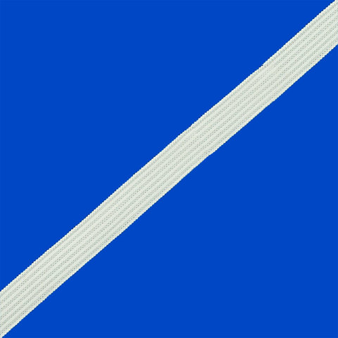 Резинка вязаная белая шир: 7мм