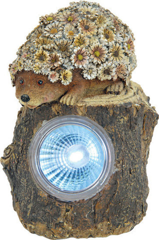 Светильник садово-парковый на солнечной батарее, 1 белый LED, E41 (Feron)