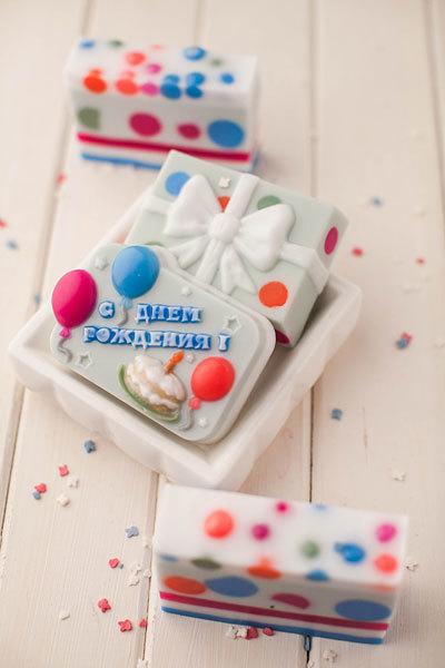 Мыло Подарок. Пластиковая форма для мыла