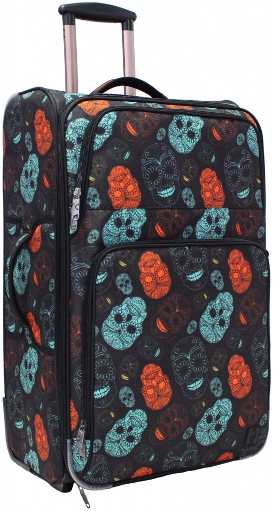 Дорожные чемоданы Чемодан Bagland Леон большой дизайн 70 л. сублимация (черепа) (0037666274) 0a27b0193970757955db1cae7efb9c3a.JPG