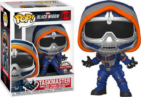 Фигурка Funko Pop! Marvel: Black Widow - Taskmaster (Excl. to Walmart)
