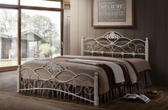 Кровать Канцона 200x140 (Canzona) Белый