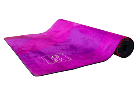Коврик для йоги Triangles 183*61*3мм из микрофибры и каучука