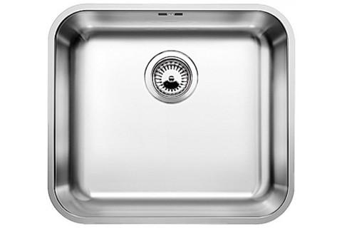 Кухонная мойка Blanco SUPRA 450-U, нержавеющая сталь, корзинчатый вентиль