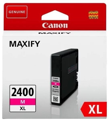 Картридж Canon PGI-2400XL M пурпурный