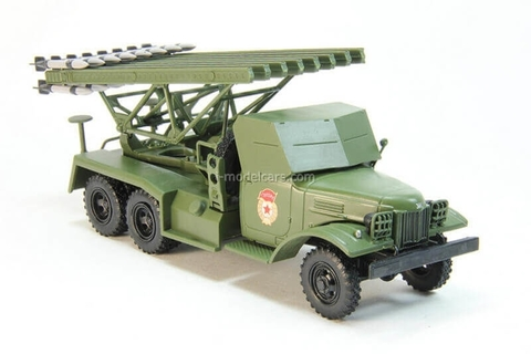 ZIS-151 Katyusha BM-13 Multiple Rocket Launch System khaki 1:43 DeAgostini Auto Legends USSR Trucks #2