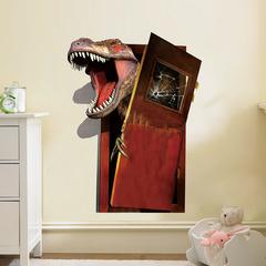 Парк юрского периода 3D наклейка — Jurassic Park