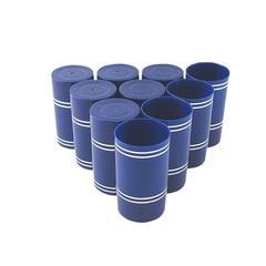 Колпачок Гуала 59 мм, синий, 10 шт