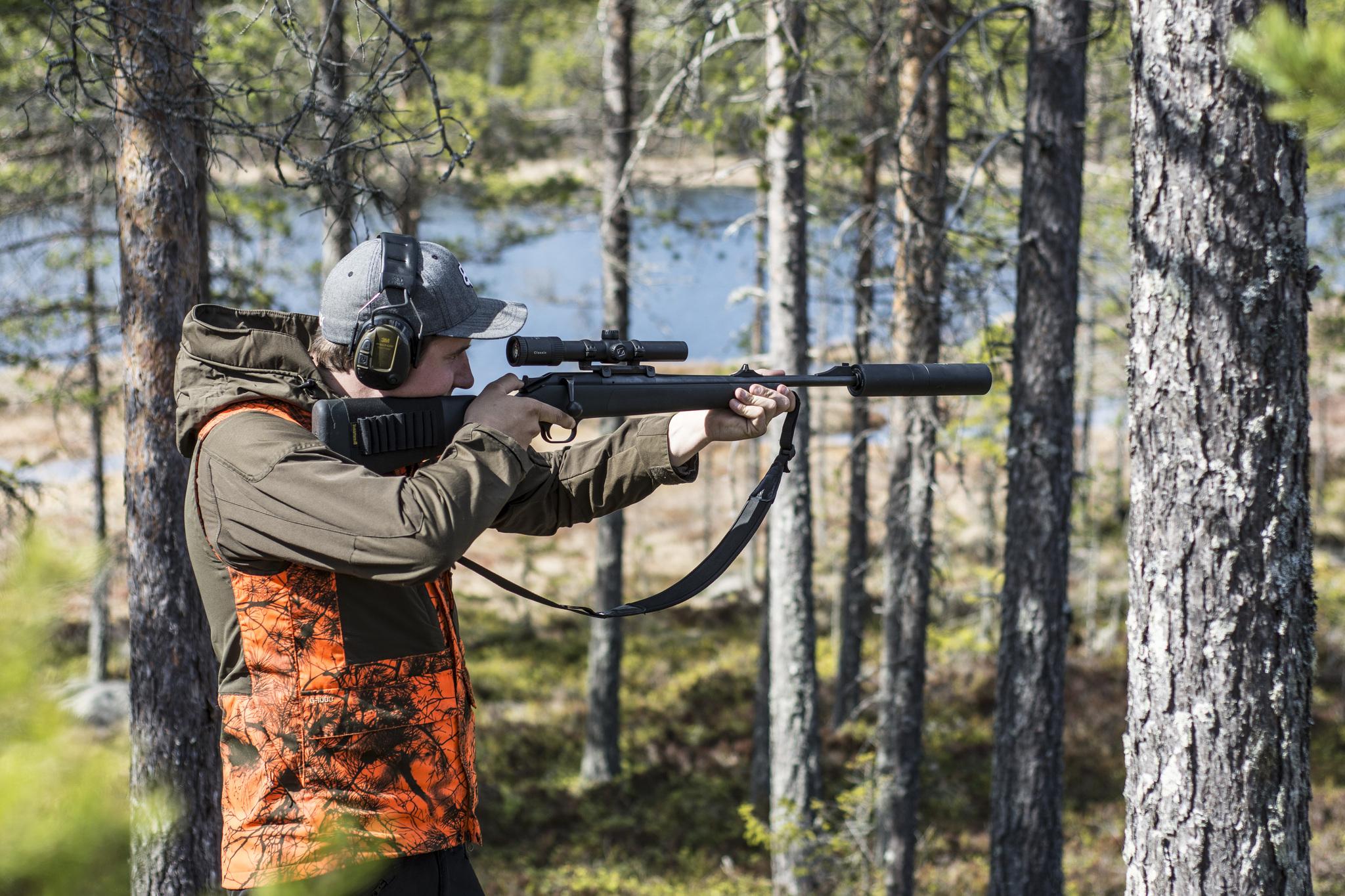 Наушники для охотников 3M™ PELTOR™ ProTac™, зеленые, оголовье