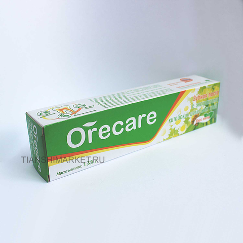 Зубная паста Тяньши Orecare на травах