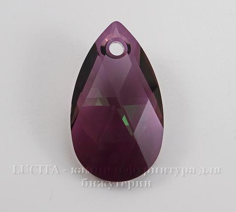 6106 Подвеска Сваровски Капля Crystal Lilac Shadow (28 мм)