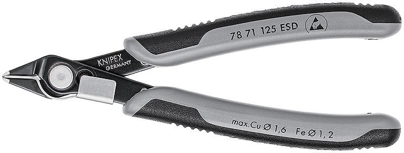 Бокорезы для электроники Knipex KN-7871125ESD
