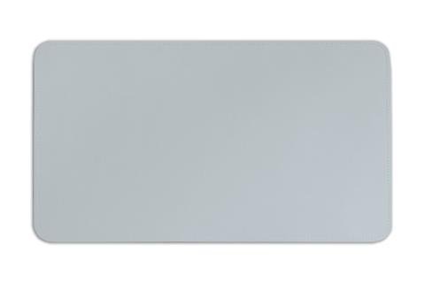 Бювар из итальянской кожи Cuoietto модель №9 цвет серый.