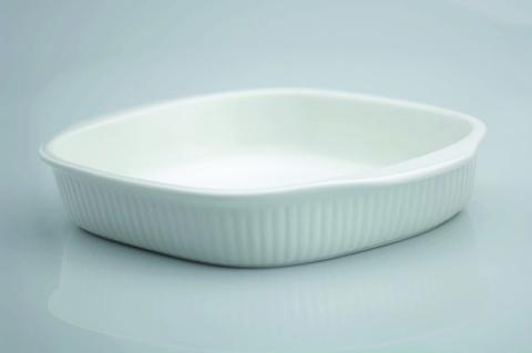 Блюдо квадратное для запекания 24 x 21 x 4 cm Bianco
