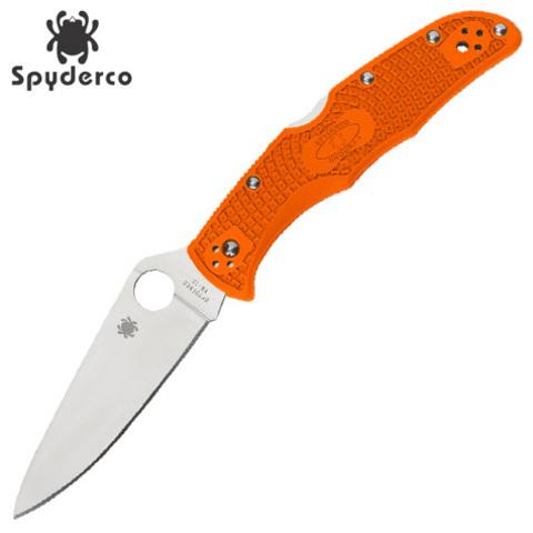 Нож Spyderco модель 10FPOR Endura 4 Orange
