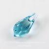 6000 Подвеска Сваровски Drop Light Turquoise (11х5,5 мм)