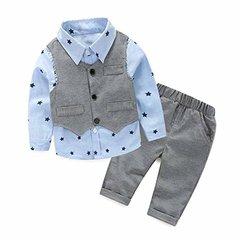 FEITONG Рубашка, жилет и брюки  резинке КМ54