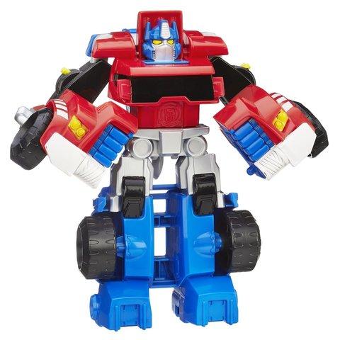 Робот Трансформер Playskool Оптимус Прайм (Optimus Prime) Эксклюзив - Боты Спасатели (Rescue Bots), Hasbro