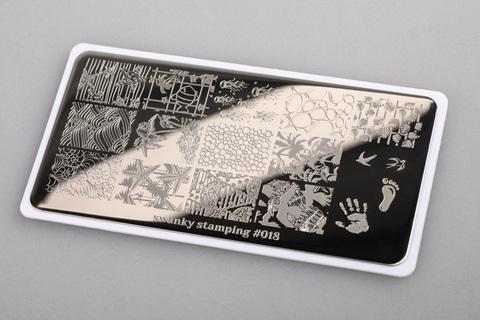 Пластина Swanky Stamping 018