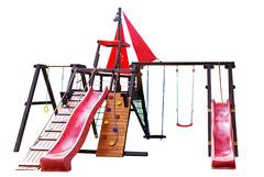 Детская деревянная площадка Каравелла